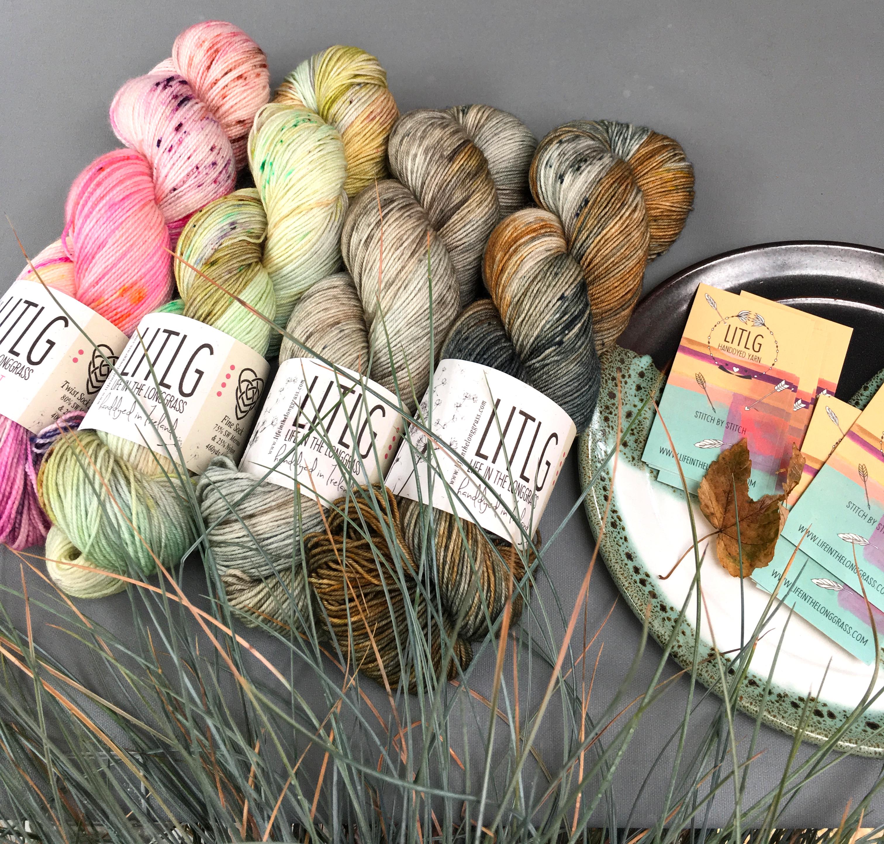 Merino Wool Yarn Indie-dyed Yarn Hand-dyed Yarn Hand-painted Yarn Embrace Colorway