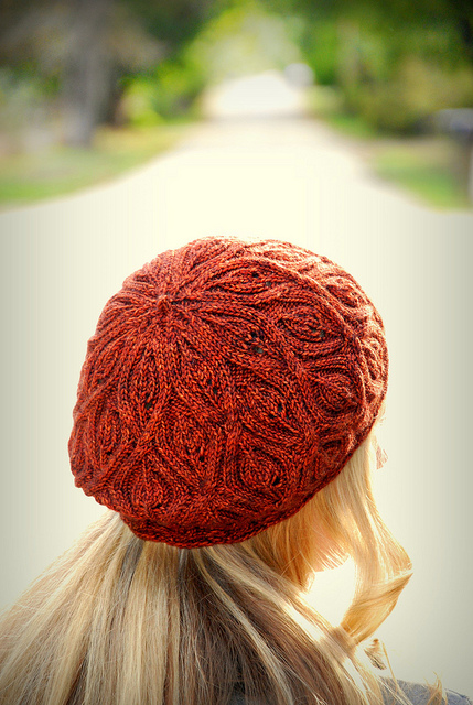 Autumn Vines beret by alana dados