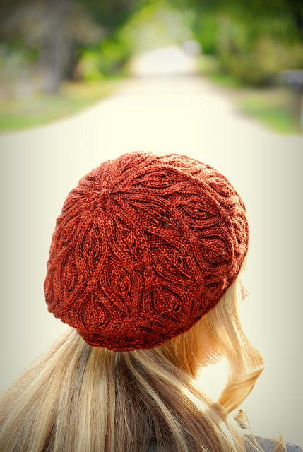Autumn Vines beret by alana dados