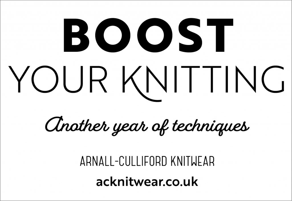 boost your knitting