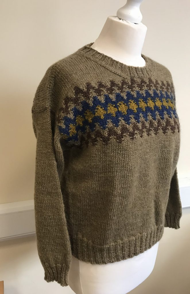 bohus sweater, laine magazine issue 7