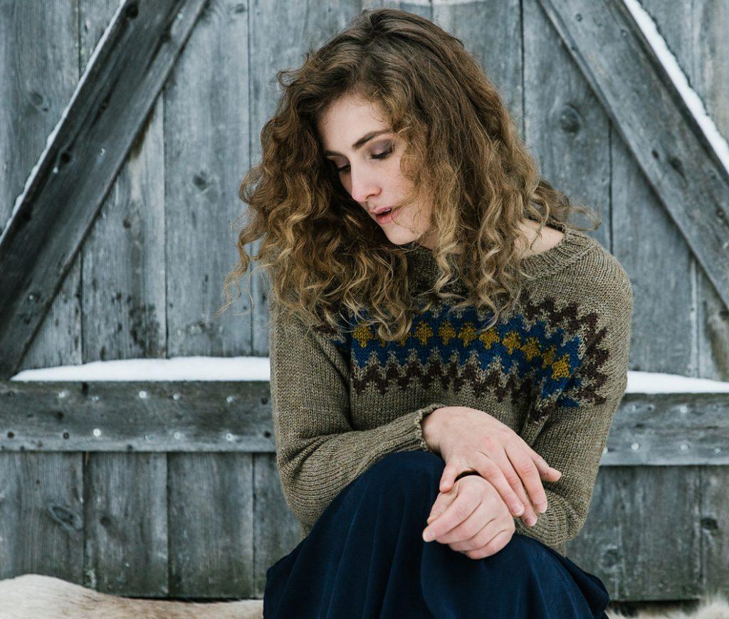 bohus sweater, laine magazine issue 7