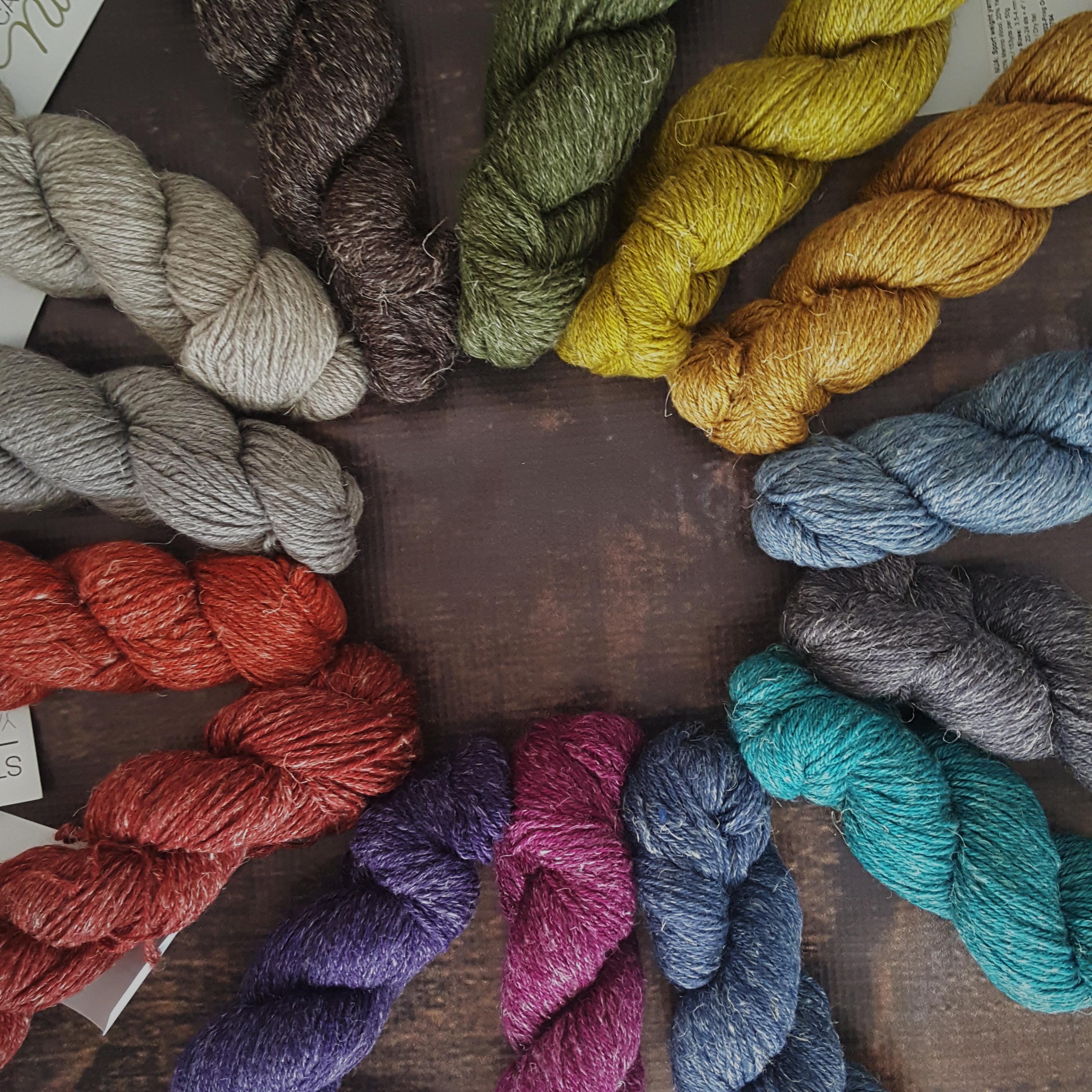 nua worsted yarn