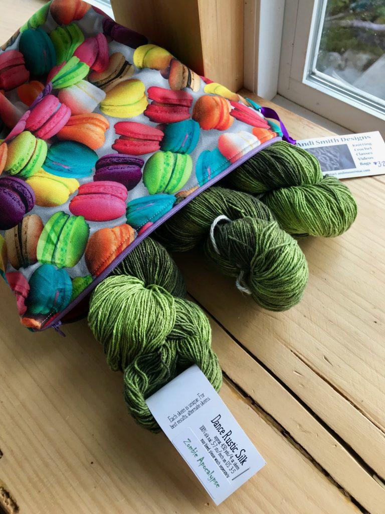 dance rustic silk yarn