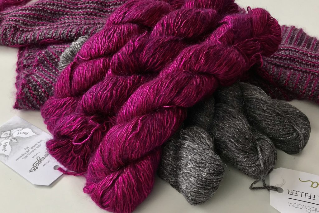 siog stripes colour combo magenta and august storms