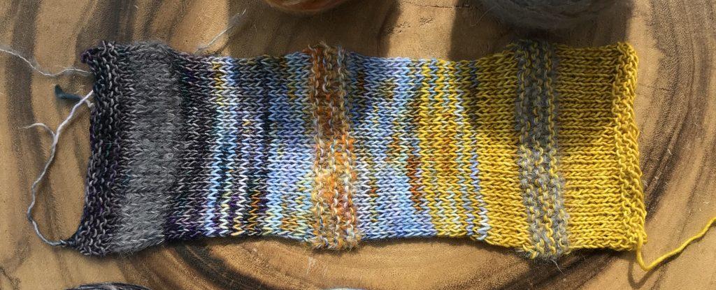stash dive kal yarn
